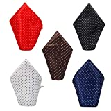 It Can Be Folded To Create Multiple Styles. MATERIAL: Made of microfiber with finest texture and elegant pattern which provide soft feel and glossy look. QUALITY: This Rich styles in elegant design men's tie is high on quality and light in weight too...