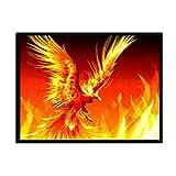 Leinwand Bild,Anderes Tier Brand Phoenix, Poster Und Drucke