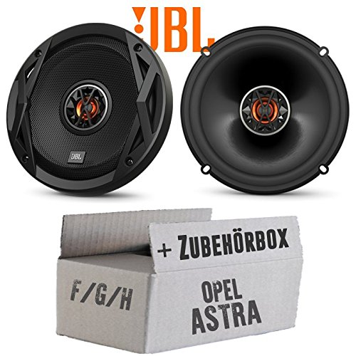 günstig Opel Astra F, G, H – JBL Club6522 Speaker Cabinet | Bidirectional | Accessories for Mounting 16cm Coaxial Cables in Cars – Mounting Kit