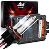 WinPower HB3/9005 55W Coche HID Xenon Kit con Lastrey CAN-Bus Super decodificador Faro Reemplazo Bulbo 8000K de hielo azul, 2 piezas