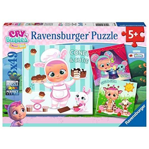 Ravensburger Puzzle - Cry Babies Puzzle 3x49 cm, 05104 5