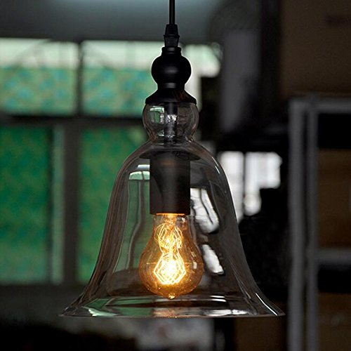 Chendongdong Bell glass ceiling lamp shade modern vintage industrial Pendant light