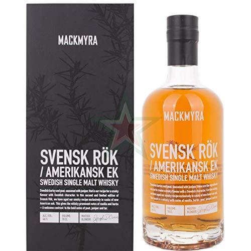 Mackmyra SVENSK RÖK Amerikansk EK Swedish Single Malt Whisky 46,10% 0,70 Liter