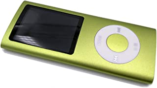 Mp3 Player, Portable 8GB MP4 Player 8 Colors FM Video 4 TH MP3 Player Music Player 1.8' Screen E-Book,Green