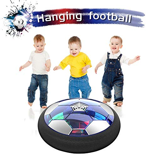 Air Power Soccer Hover Soccer Ball Rechargeable Air Football With Foam Cushioning Indoors Game Kids Toys For Boys, Girls, Toddler