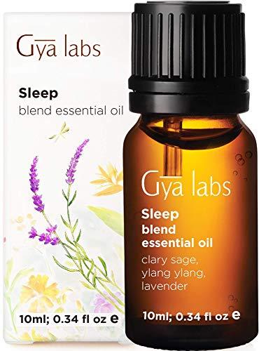 Essenzielle Öl-Mischung für den Schlaf - Weiche Noten von Lavendel und Ylang-Ylang, die für tiefen und gesunden Schlaf sorgen (10 ml) - 100% naturreine Aromaöl-Essenz therapeutischer Güte