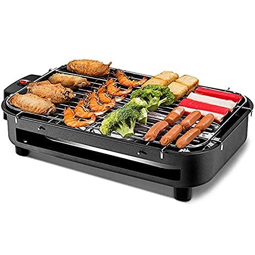 Elektrische Tischplatte Teppanyaki Grill Grill Innen- / Außen Kochplatte Herd Grill Tisch Heiße Grillplatte für Küche Dinner Party Camping Festival Kochen
