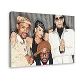 The Black Eyed Peas 12 Leinwand-Poster, Wandkunst, Dekor,