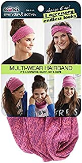 Scunci Multi-Wear Hairband, Pink