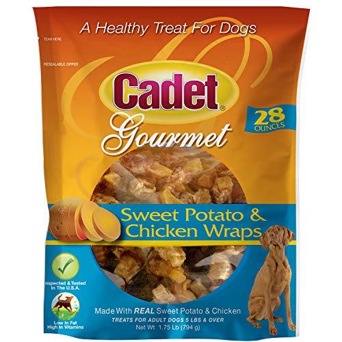 Cadet Premium Gourmet Wraps Chicken & Sweet Potato Dog Treats, 28 oz.