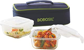 Best borosil lunch box set of 2 Reviews