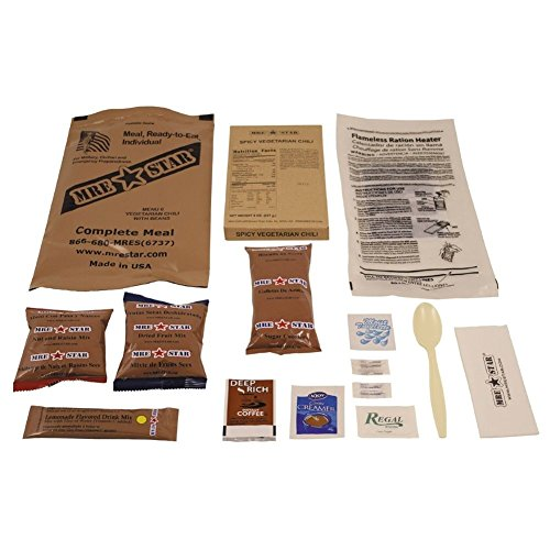 Armeeverkauf Original US Army Food MRE Ready-to-Eat BW Notration Menü: 6