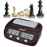ajedrez grande con reloj