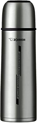 ZOJIRUSHI SV-GWF50 XA Bottle Thermos Bottle with Cup 0.50L, Stainless