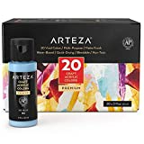 Arteza Craft Outdoor Acrylic Paint, Set of 20...
