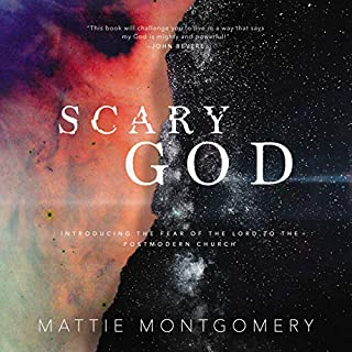 Scary God audiobook cover art