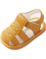 [GIFT TOWER] ベビーシューズ 靴 サンダル 赤ちゃん 新生児 夏向き 男の子 女の子 つま先保護 滑り止め 出産祝い マジックテープ 可愛い 柔らかい お出かけ
