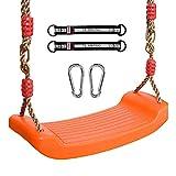 Rainbow Swing Board Swing Biegeplatte mit Karabiner verstellbarem Seil Trapez Biegeplatte Swing Home Indoor Outdoor Baby