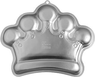 Wilton Aluminium Crown Cake Tin, Aluminium, 36.1 x 26.6 x 5 cm (14.25 x 10.5 x 2 in)