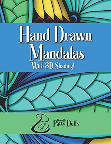 Hand Drawn Mandalas with 3D Shading