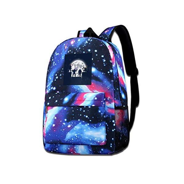 51NGkTolXbL. SS600  - XNTWJMV Galaxy bolsa de hombro estampada para adolescentes, tortugas ninja mutantes, sombras nocturnas, silueta de moda…