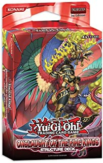 Konami YuGiOh Onslaught of the Fire Kings Structure Deck