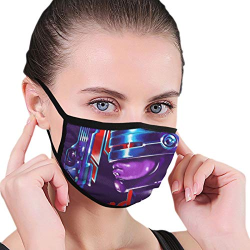 ghjkuyt412 Dead Or Alive Robocop Nahtloser Staubdichter Schal Bandana Gesichtsbedeckungen Wiederverwendbarer Schal