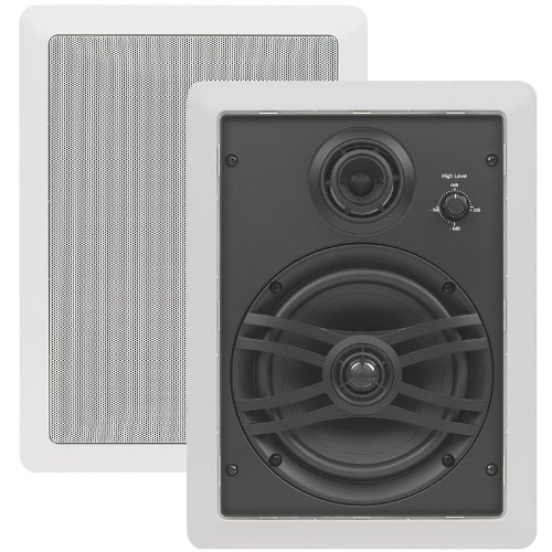 Yamaha Corporation of America NSIW470WH 3 Way Speaker (White, Pair)
