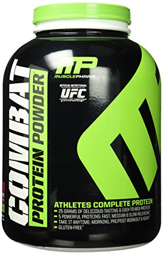 MusclePharm Combat Powder - Triple Berry, 1er Pack (1 x 1.814 kg)