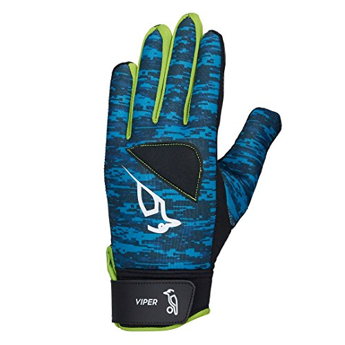 Kookaburra Unisex-Jeugd Viper Hockey Handschoenen, Turkoois, X-Small