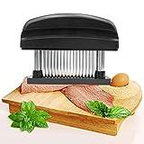 LURICO Fleischzartmacher, Fleischklopfer, Nadel Fleisch Tenderizer Fleischhämmer, Fleischstecher Steaker, Küche Werkzeug für Steak, Meat tenderizer 48 Edelstahlklingen