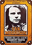 Hunnry Van Morrison in Portland Oregon Poster Metall