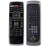 AIDITIYMI XRT301 New IR Dual QWERTY Keyboard Remote for Vizio Internet Smart 3D TV M3D550KD E472VL M3D650SV M3D550SL E3D420VX E460ME M420SR M550SV E3DB420VX M3D470KD E3D320VX Remote
