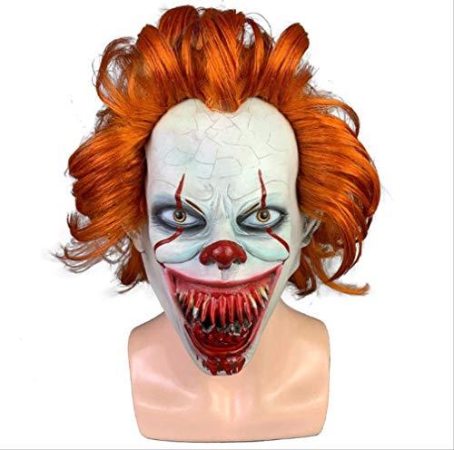 tytlmask volwassen horror latex masker, eng Momo maskers, voor Halloween Cosplay kostuum partij decoratie rekwisieten
