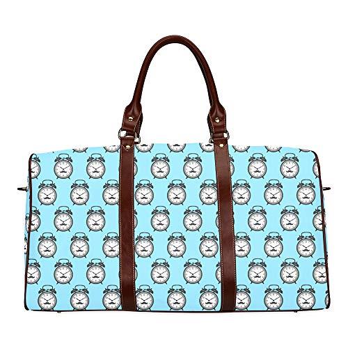 Best Handbag Compact Alarm Clock Weak Up Tool Waterproof Microfiber Leather Carryon Bag Weekend Travel Bag Totes Bags Travel Bag Boys Multi Travel Bag