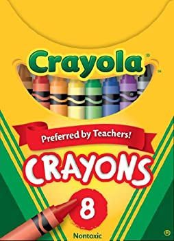 Crayola Classic Color Pack Crayons Tuck Box 8 Colors