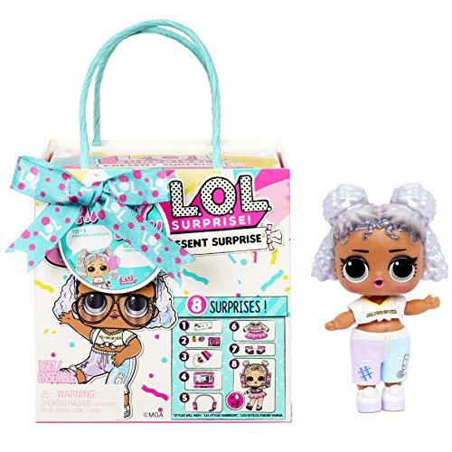 L.O.L. Surprise!- LOL Present Surprise Serie 3 Surtido-8 sorpresas, Accesorios, Tema de cumpleaños-Incluye Ropa, Zapatos y más-Coleccionable (576396C3BULK)