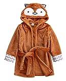 Baby Kinder Bademantel Kleinkind Junge Mädchen Tier Kapuze Badetuch Kleinkind Badedecke Weiche bequeme Kleidung Geschenk-Owl-5-5T