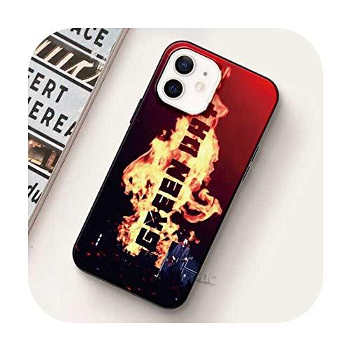 Carcasa suave para iPhone 12 Mini 11 Pro Max Xr Xs X 7 8 Plus Se Funda para iPhone Xsmax Silicon Shell-B07-para iPhone 6 6S