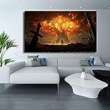 MY-supeng Affiches de Toile de Fonds d'écran HD Pr Impressions de décoration pour...