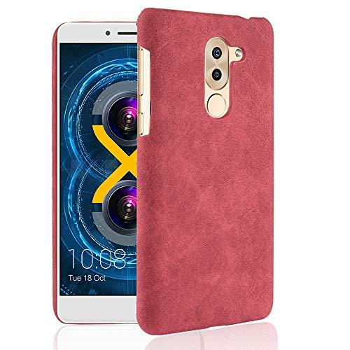 stengh Funda para Huawei Honor 6X BLN-TL10 BLN-TL00 BLN-AL10 BLN-AL20 BLN-L21 BLN-L24 BLN-L22 / GR5 2017 / Huawei Mate 9 Lite BLL-L23 Eclipse Case PC Plastic Patch Skin Cover Cover Cover case Rojo