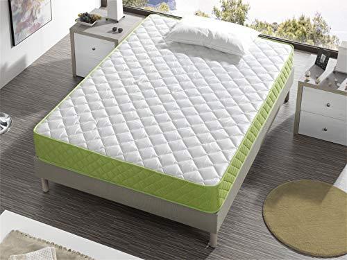 Bellavista Home Matratze Mallorca Memory Foam-Viskoelastisch 105x190x20 cm. Hotelkomfort, sanfter Empfang mit Festigkeit, Therapeutisch. Liegehärten H3&H4, 8 Jahre Garantie.