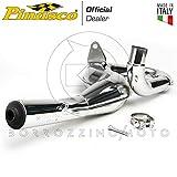 PINASCO Silenciador completo Racing cromado Piaggio Vespa PX PE 200 Cosa Rally Art. 25560825