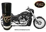 Kustom Canz Harley Davidson Vivid Black - Aerosol can Paint Code A27220B