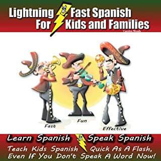 Lightning-fast Spanish for Kids and Families cover art