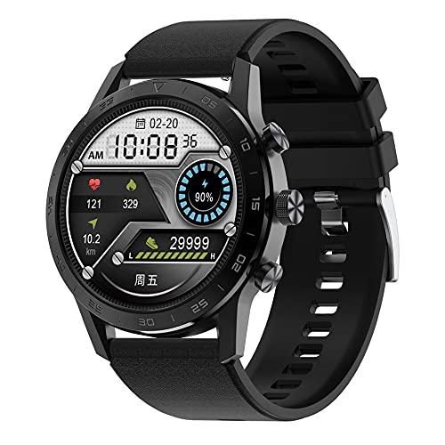 CandyT DT70 Smart Watch Pulsera de monitoreo de frecuencia cardíaca Dial Redondo Llamadas inalámbricas Smartwatch IP68 Impermeable Fitness