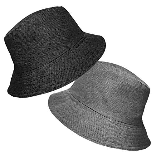 TOSKATOK TOSKATOK® UPF 50+ Damen Wendehut aus Baumwolle - Zwei Hüte in einem! Fischerhutdesign