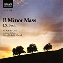 Bach: B Minor Mass (Rodolfus Choir, Southern Sinfonia/Allwood) by Sophie Bevan