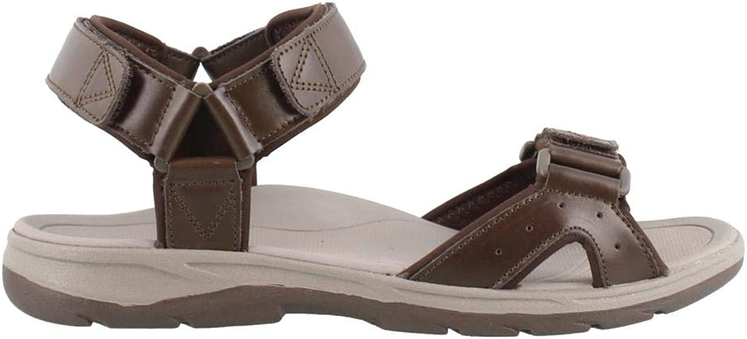 Vionic'Leo 'Män's Arch Support sommar Sandals Justerbara Strap Style Style Style Velcro Fasting  40% rabatt