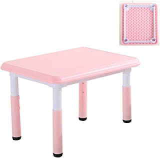 CHAXIA Child Table Chair Kindergarten Adjustable Drawing Game Tables And Chairs Durable  Colors Optional  Color